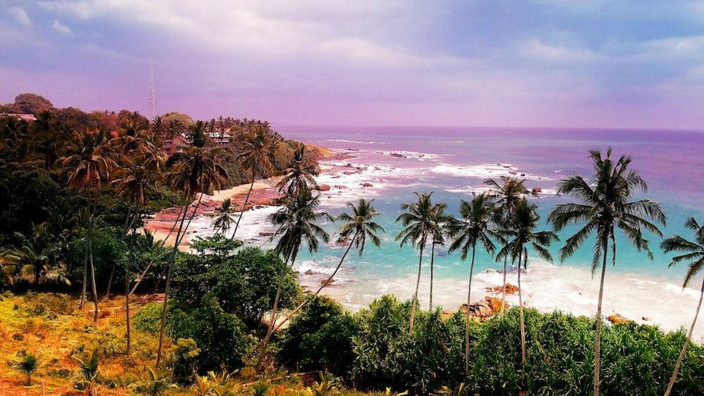 best backpacking destinations sri lanka