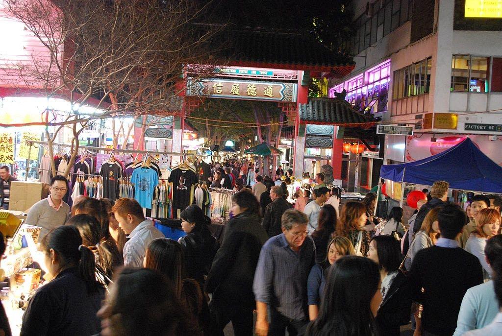 night markets sydney