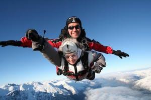 skydive in winter