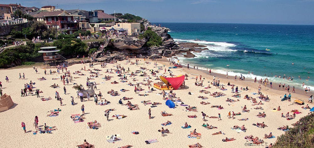 tamarama beach bondi to coogee walk