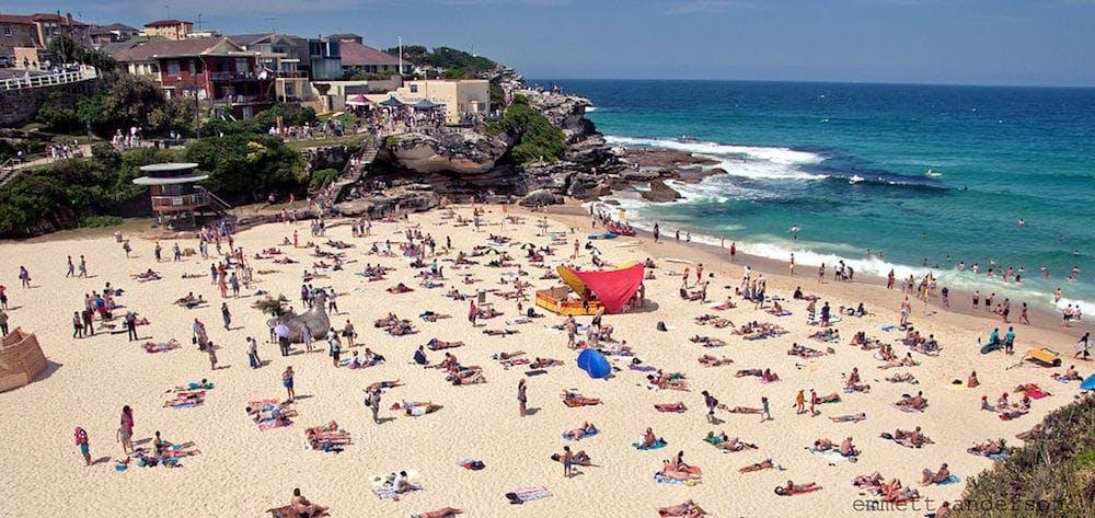 tamarama beach bondi to coogee walk