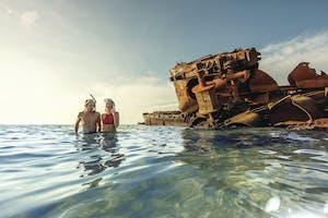 Shipwreck on Moreton Island