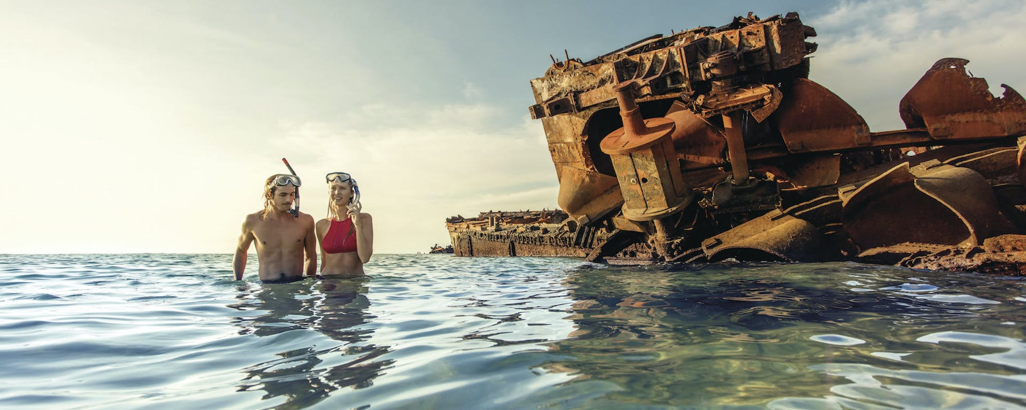 Shipwreck on Moreton Island