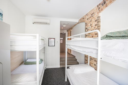 4 bed dorm at base backpackers sydney