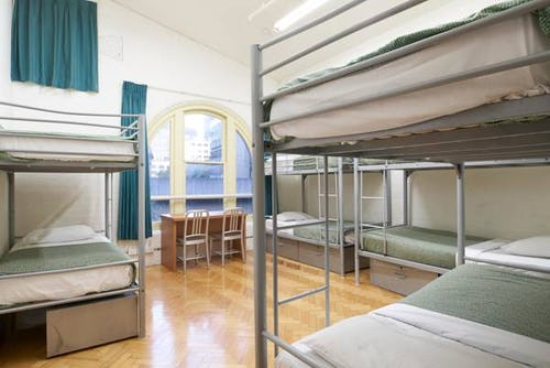 dorm accommodation at base sydney backpackers