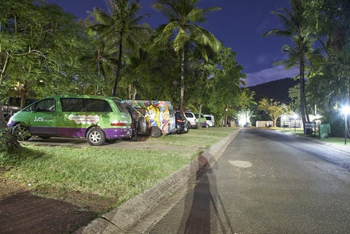 base backpackers airlie beach camping