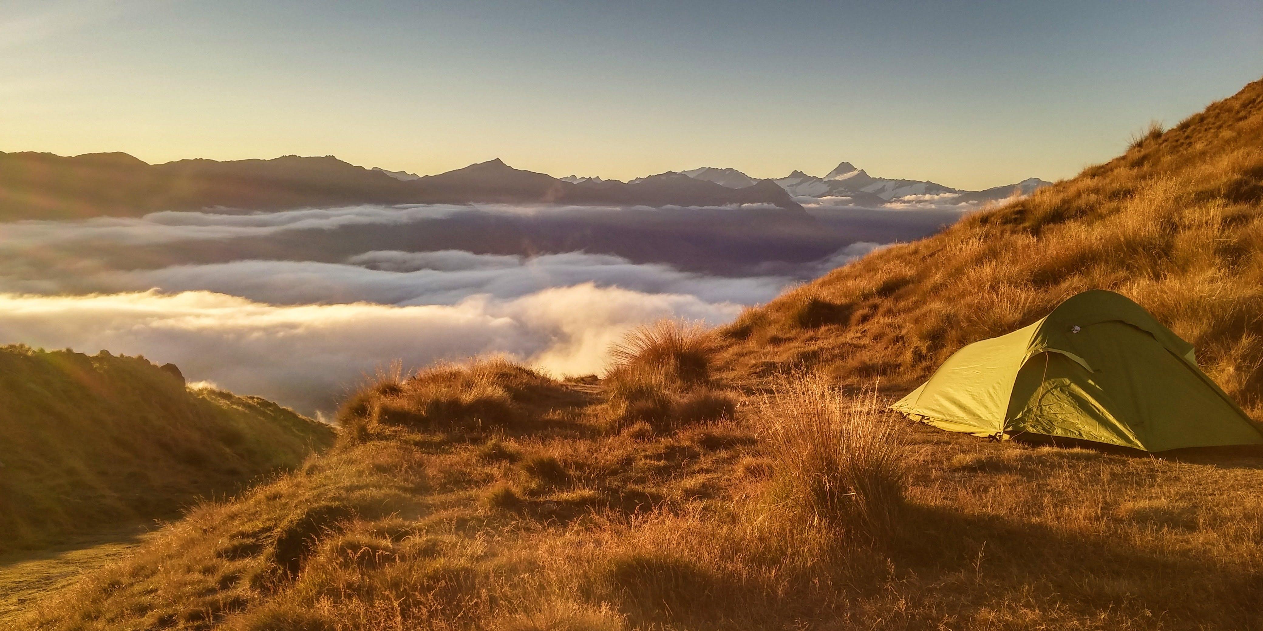 solo camping in australia