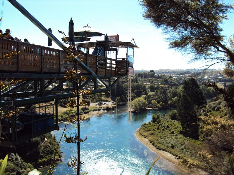 taupo bungy new zealand