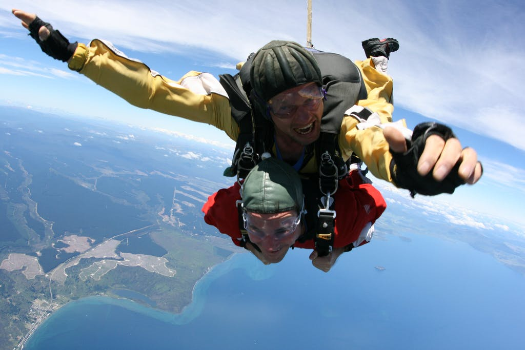skydive taupo new zealand activities
