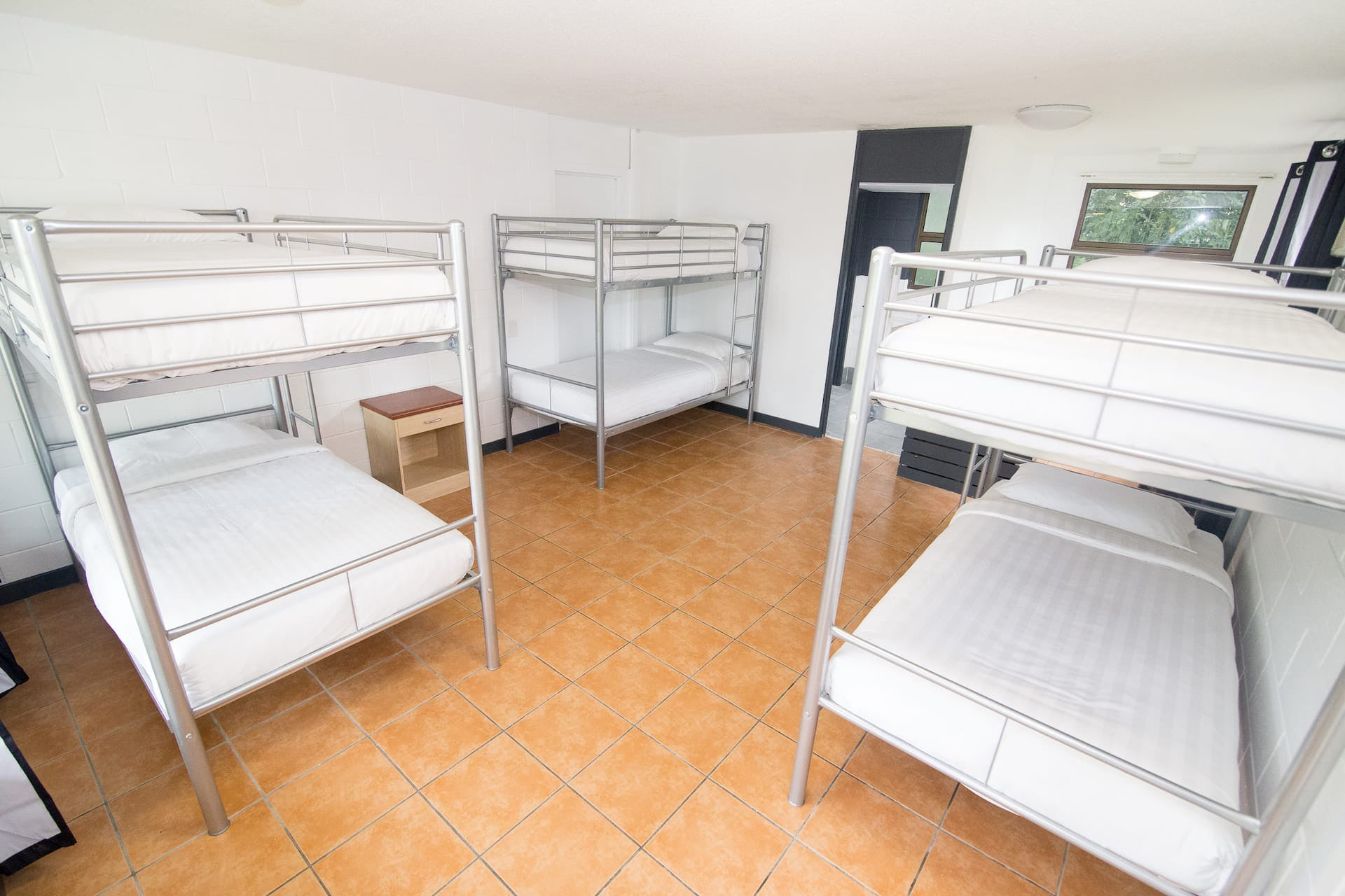 6 bed ensuite dorm at base airlie beach hostel