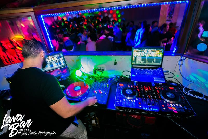 live dj's at lava bar rotorua