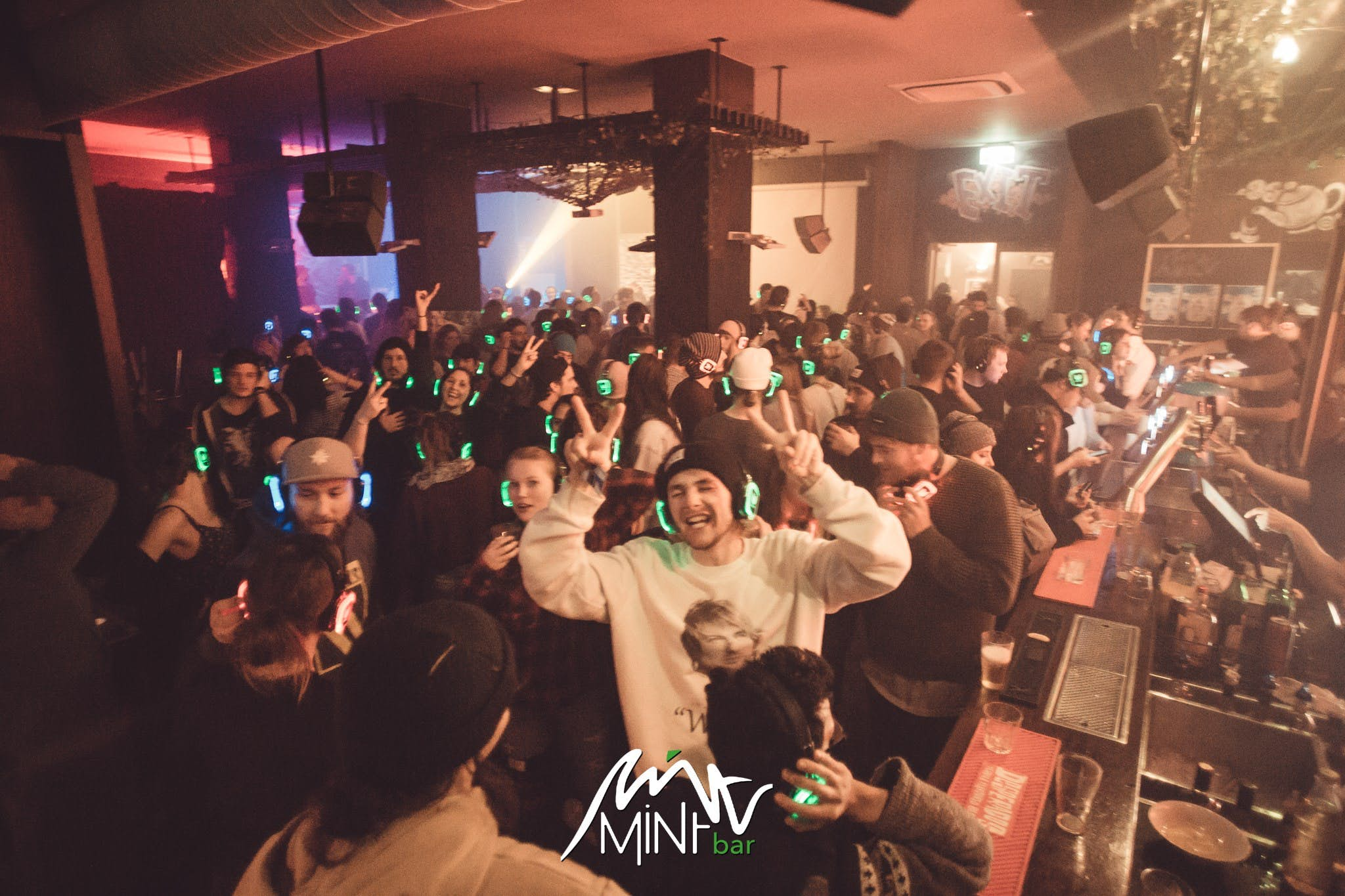 silent disco mint bar wanaka