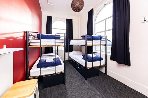 4 bed female at base wellington backpackers