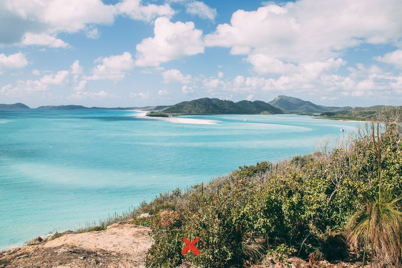 hill inlet whitsunday islands australia