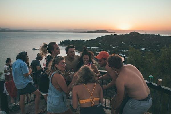Sunset walking tour Magnetic Island