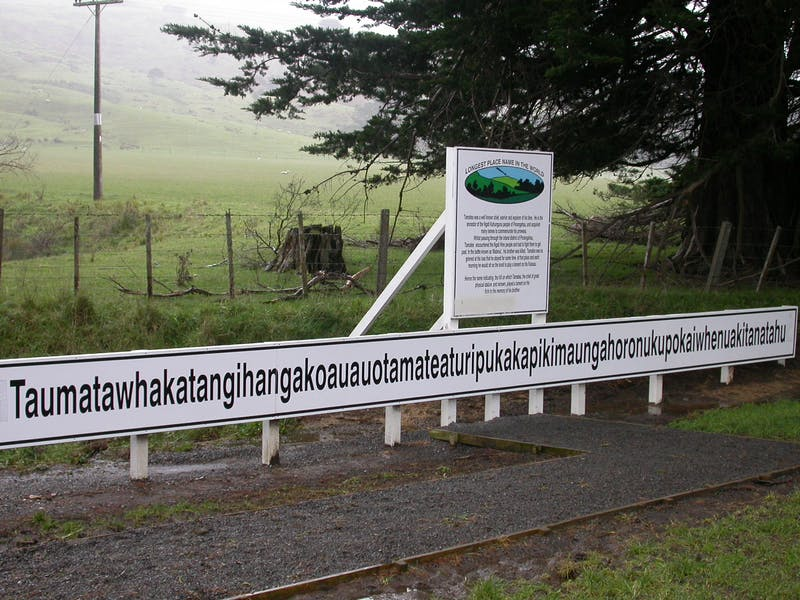 longest place name in the world