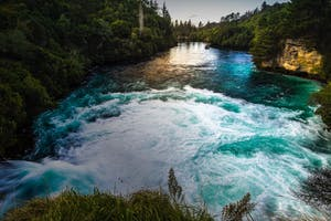 huka falls lake taupo