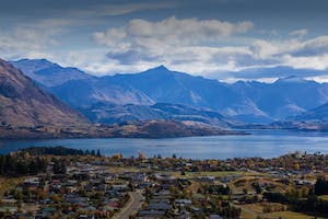 lake wanaka and mt aspiring national park