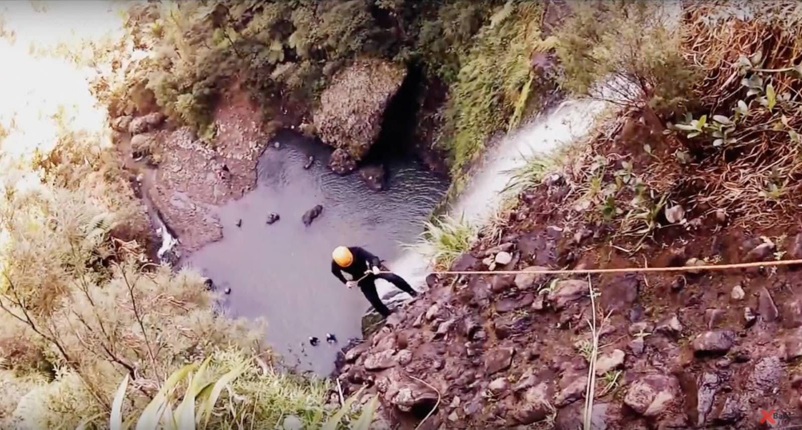 canyoning piha auckland awol canyoning adventures