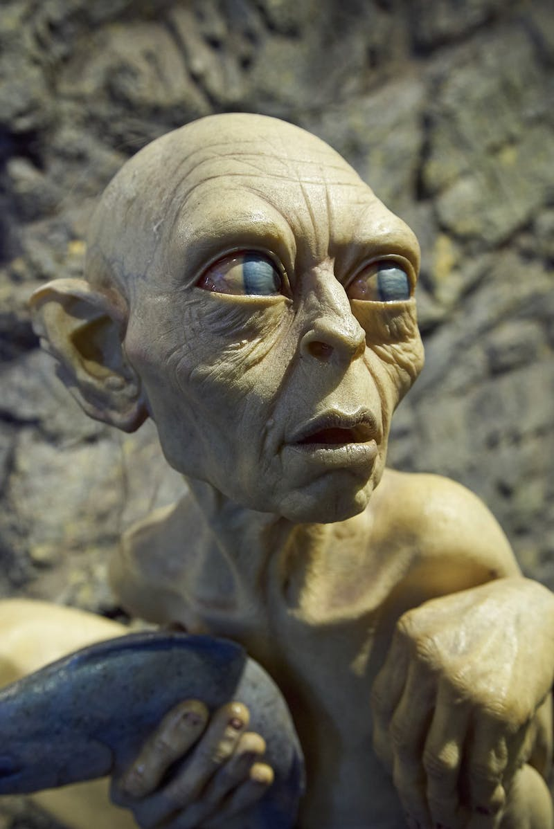 wellywood gollum lotr