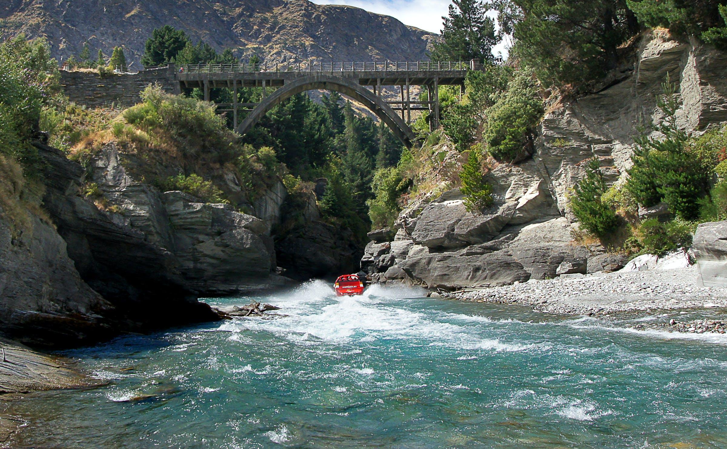 shotover river shotover jet