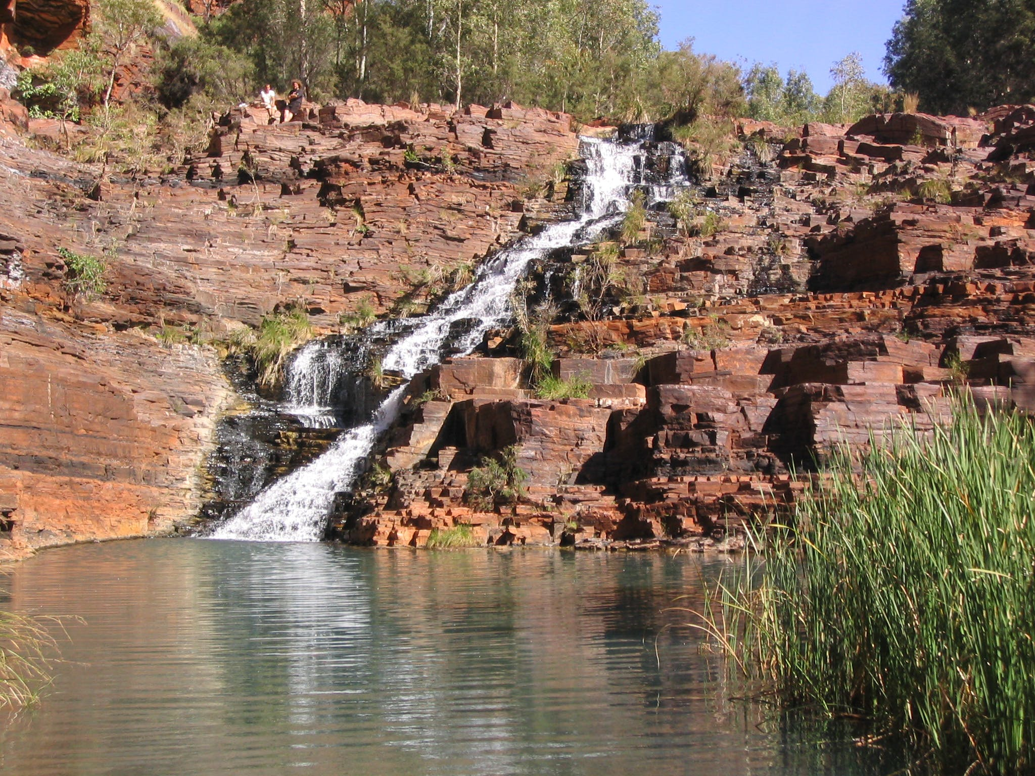 karijini national park west coast of australia
