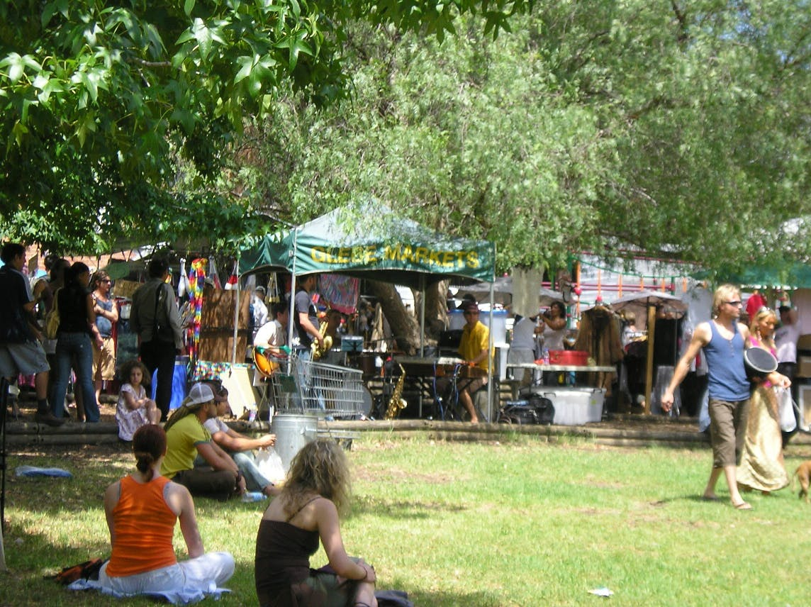 markets in sydney glebe markets
