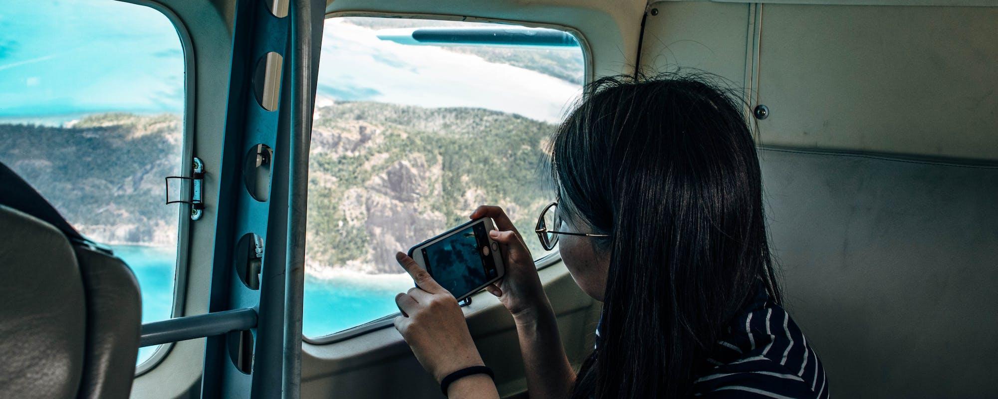 whitsundays scenic flight gsl aviation