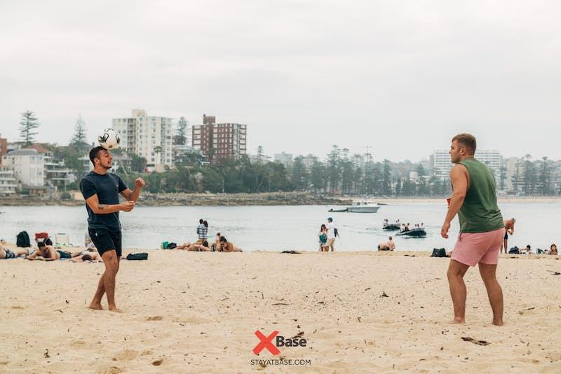 ball games with base sydney hostel