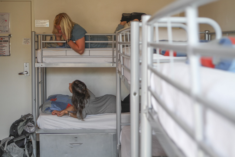 Base墨尔本背包客旅馆的女生4床套房