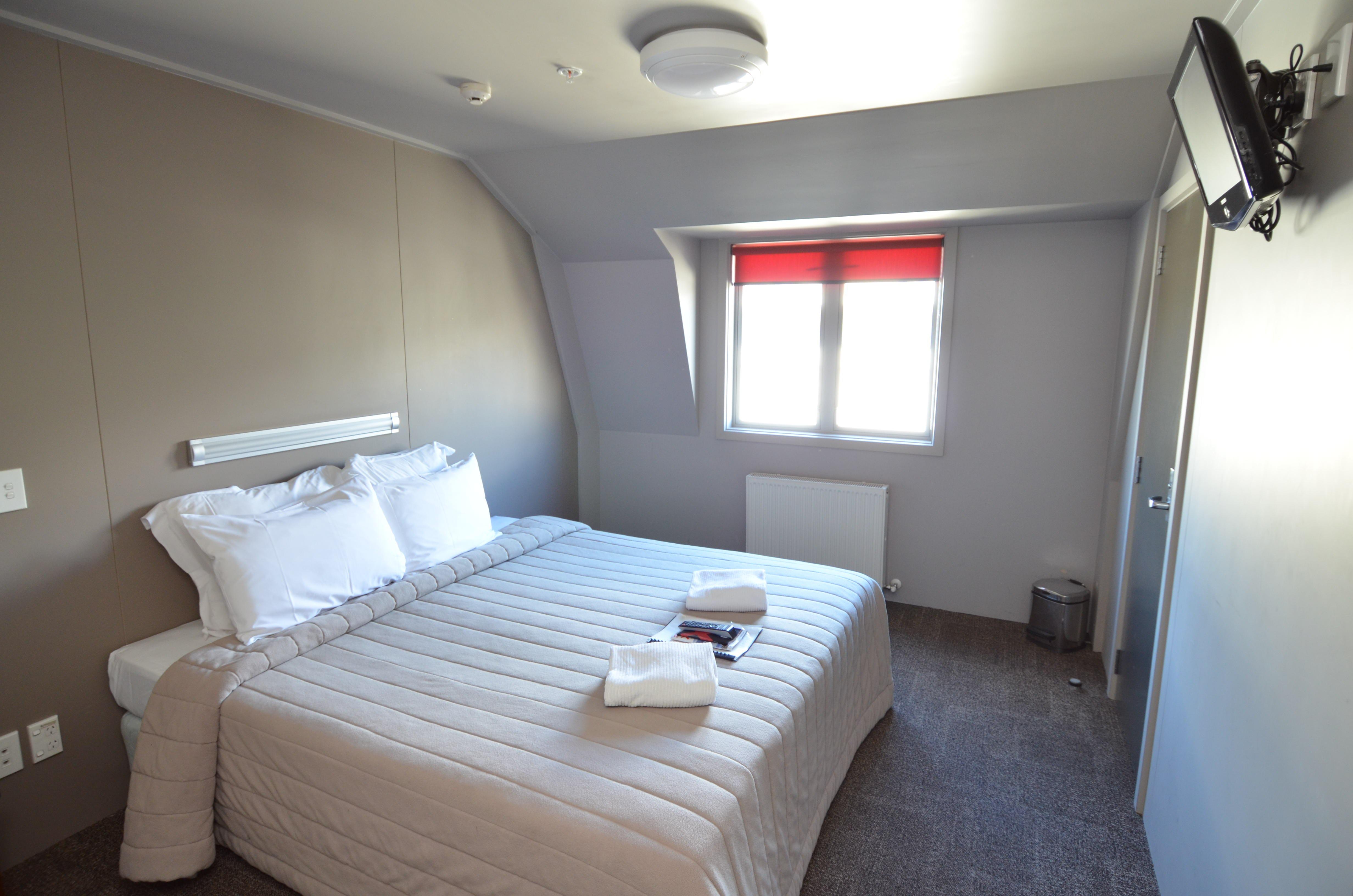 Base瓦纳卡背包客旅馆私人大床双人套房