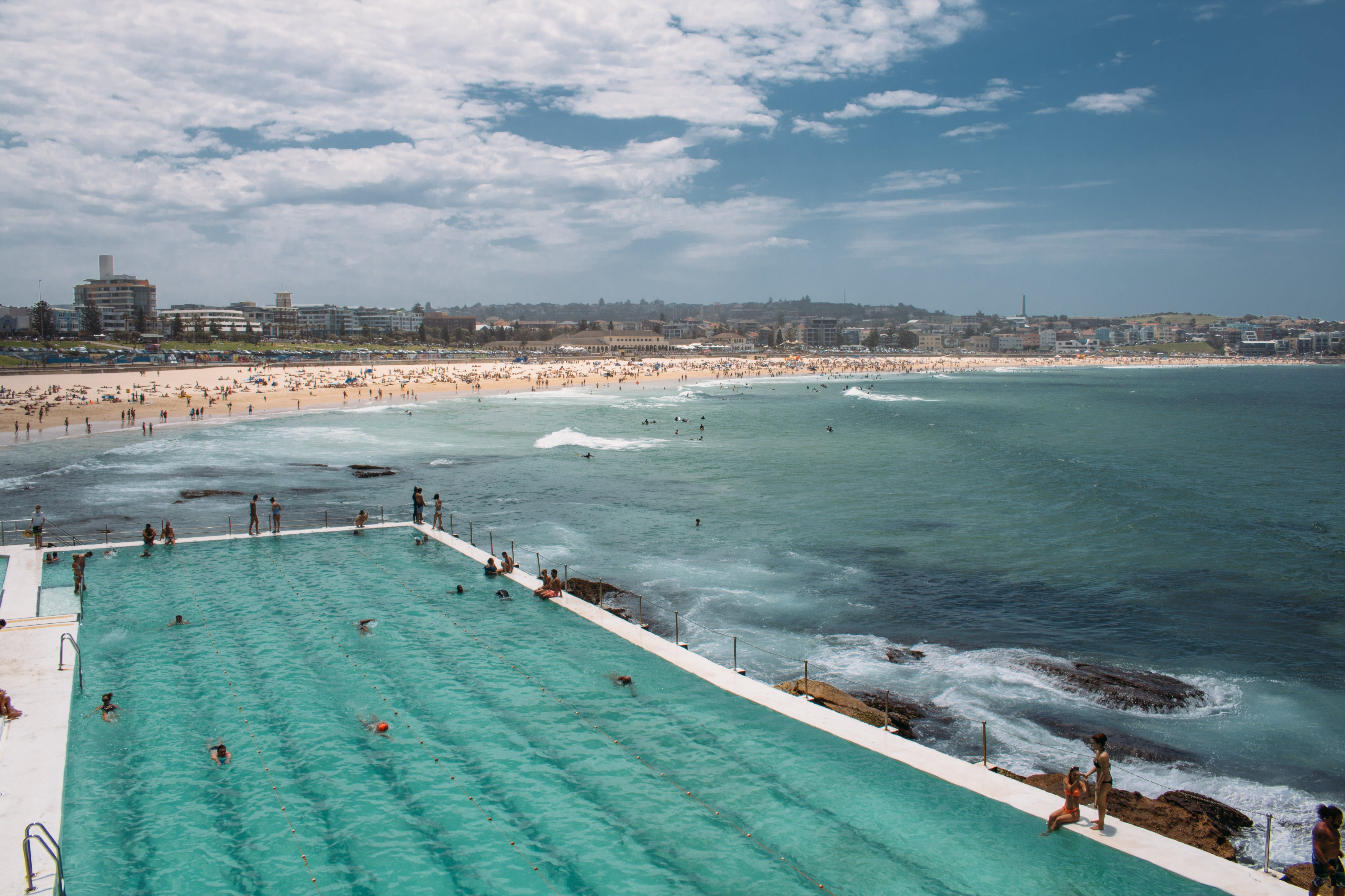 bondi icebergs at bondi beach