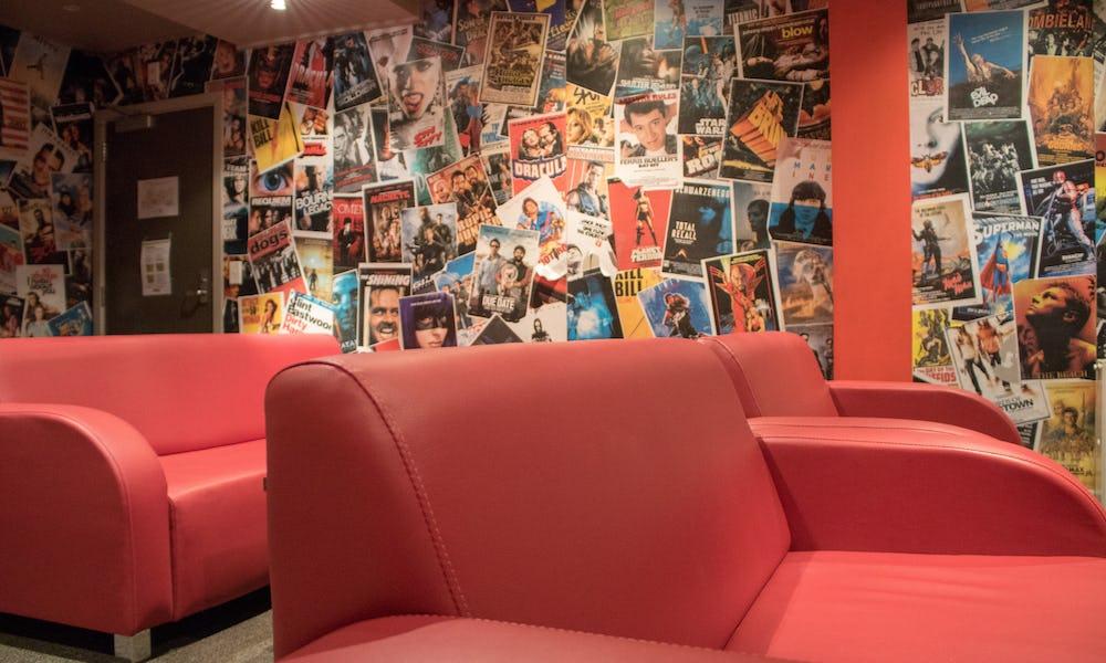 base wanaka hostel tv room