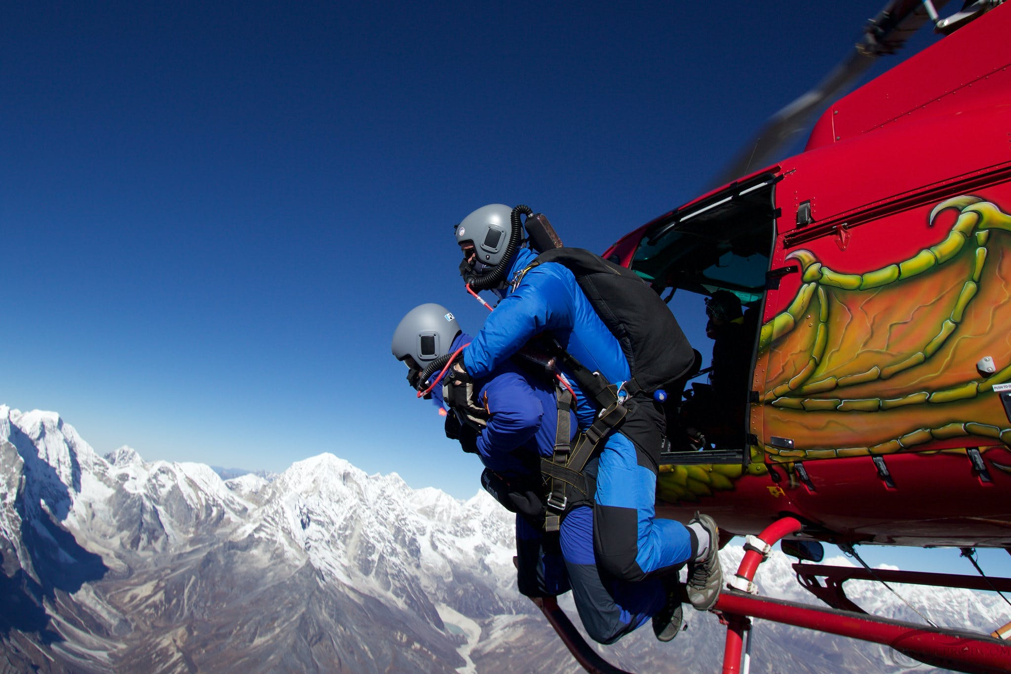 best places to skydive himalayas