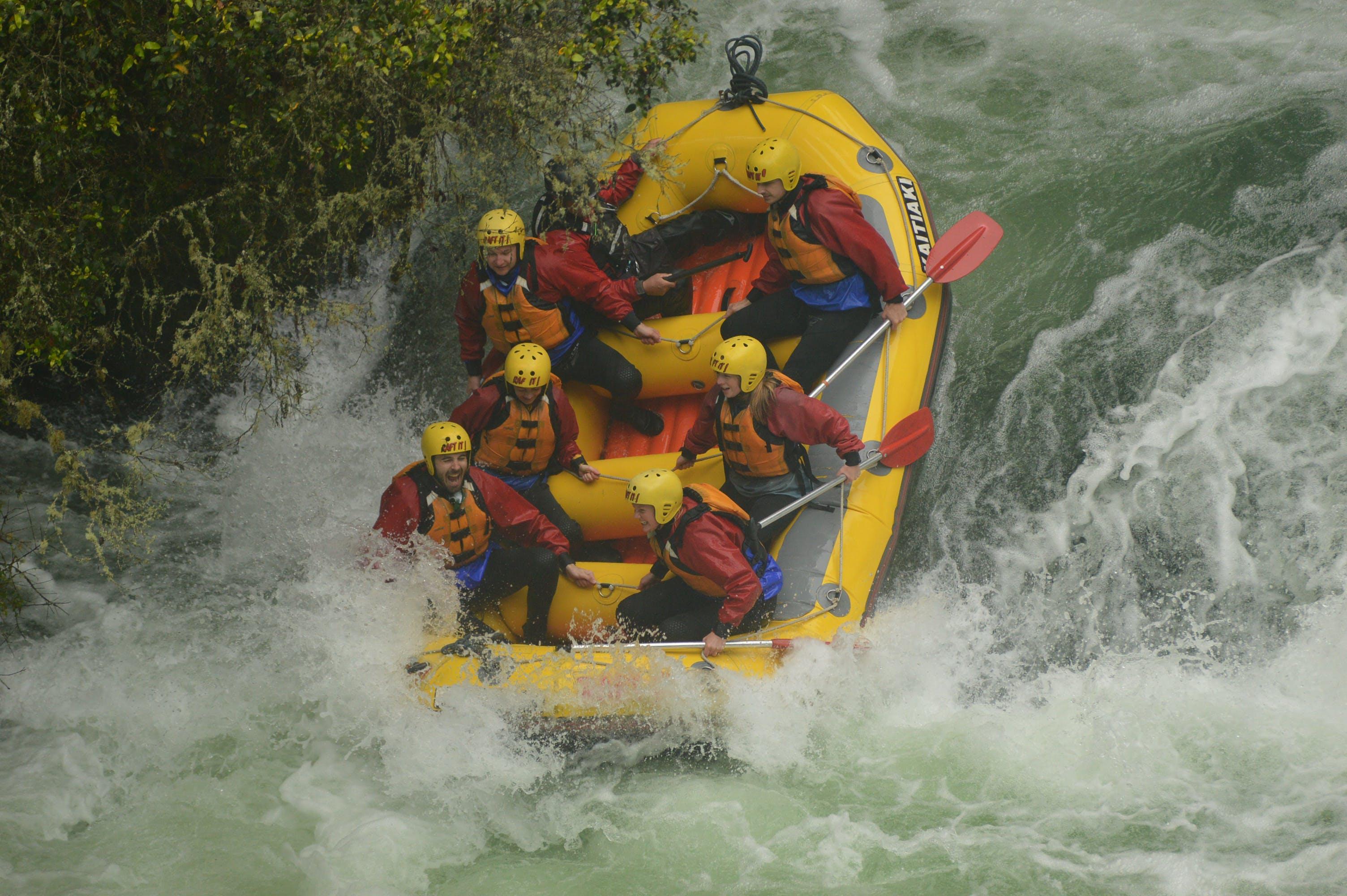 kaitiaki rafting rotorua adventure activities