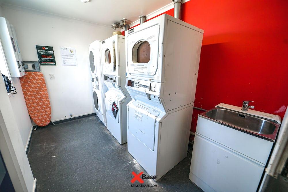 laundry facilities at base hostel taupo