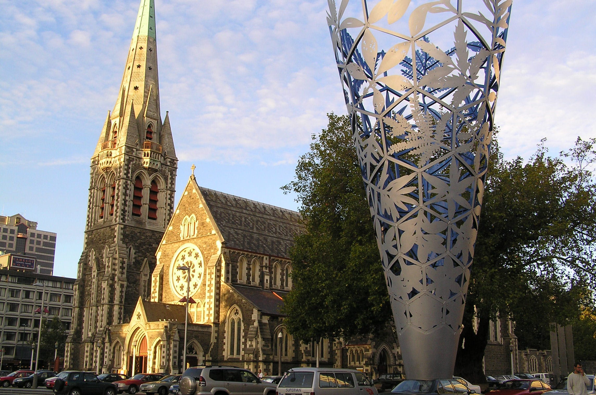 christchurch before the earthquake