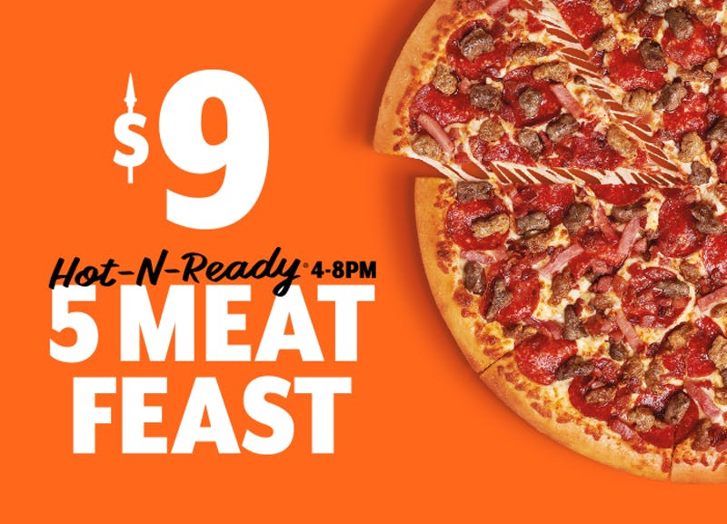 LITTLE CAESARS® UNVEILS MEAT-COVERED PIZZA CREATION