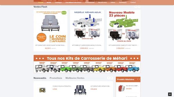 e-commerce mcda accueil
