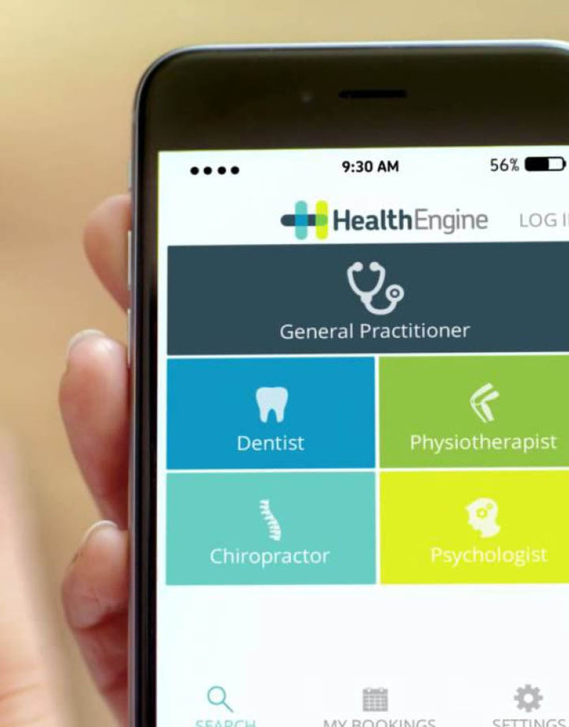 Health Engine Case Study Homepage