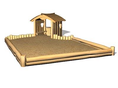 Lekplats och park – Sand- och Vattenlek
