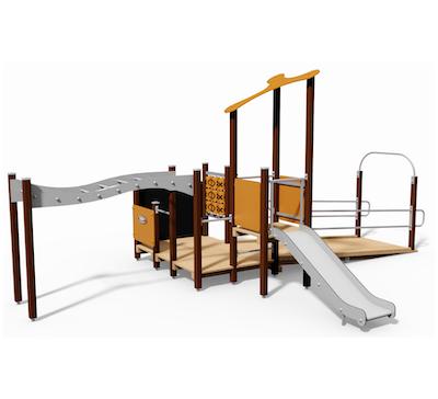 Lekplats och park – Tillgänglig lek