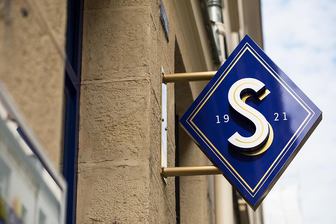 senoble, branding, shop design, design
