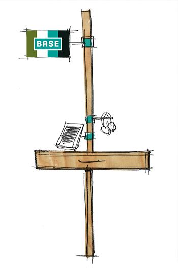 Base, sketch