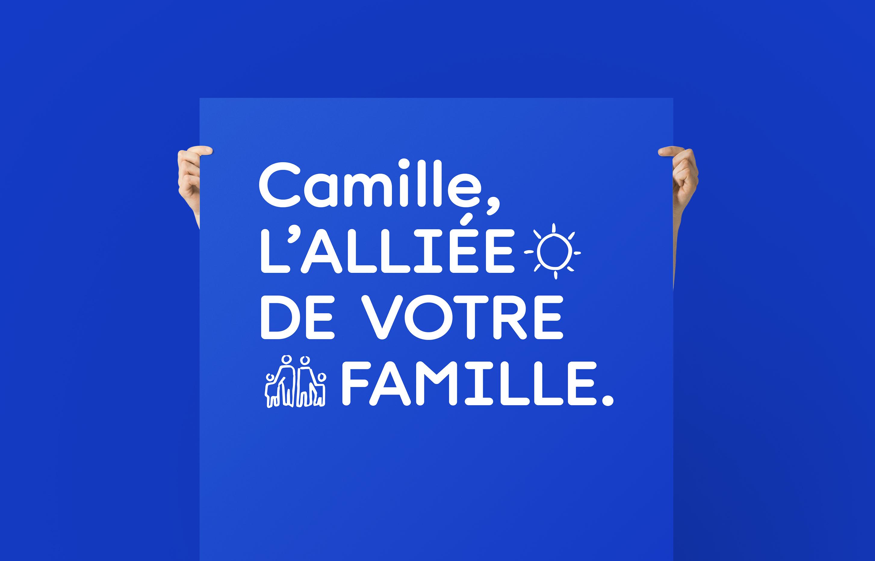 camille, UCM, logo, identité, branding