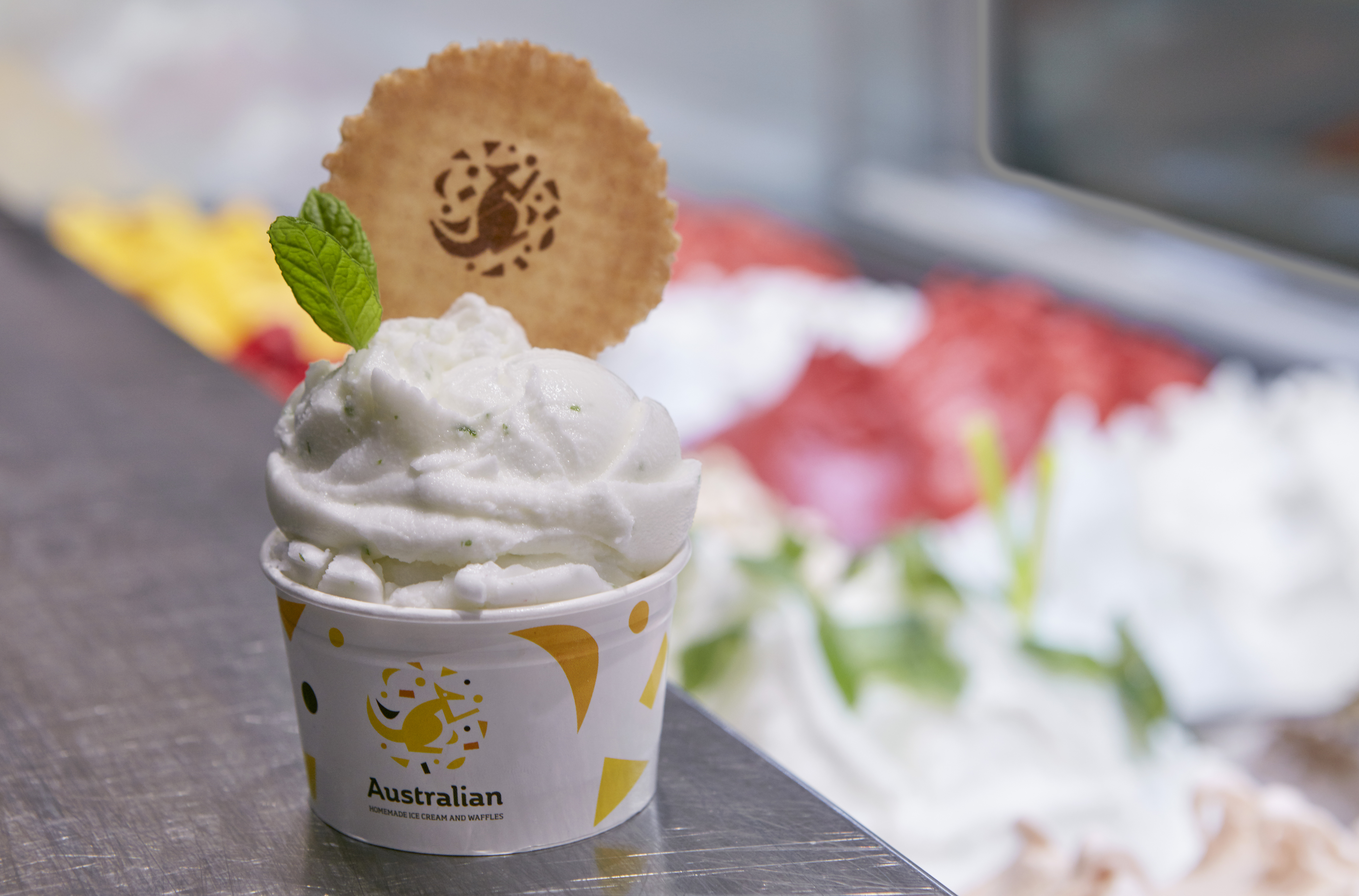 """Australian Ice Cream-From """"Ice to have"""" to """"burning desire""""."""
