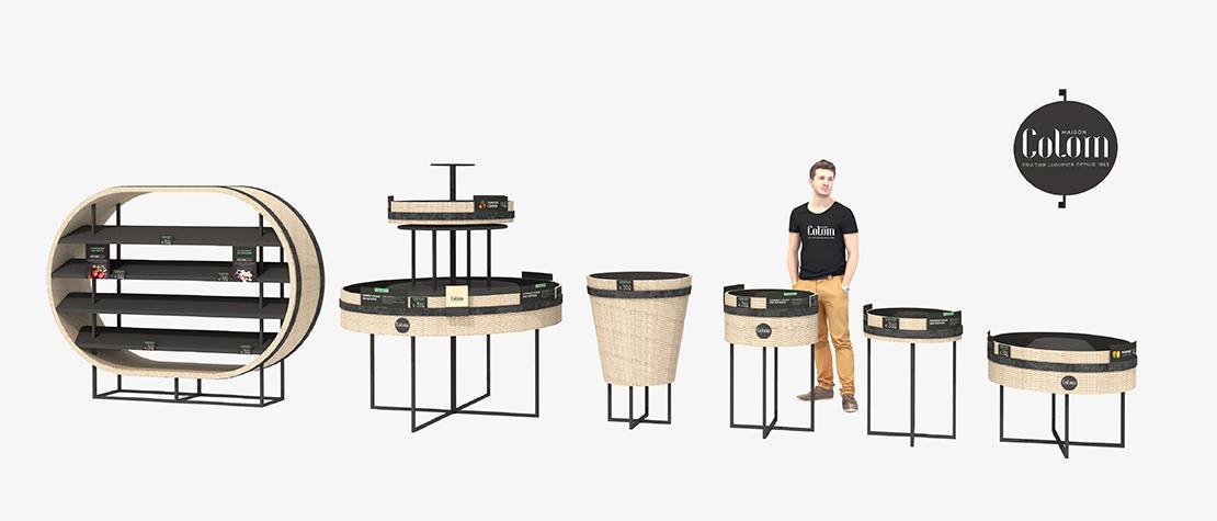 Maison Colom, design, store concept