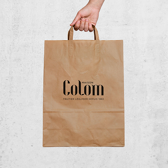 Maison Colom, sketch