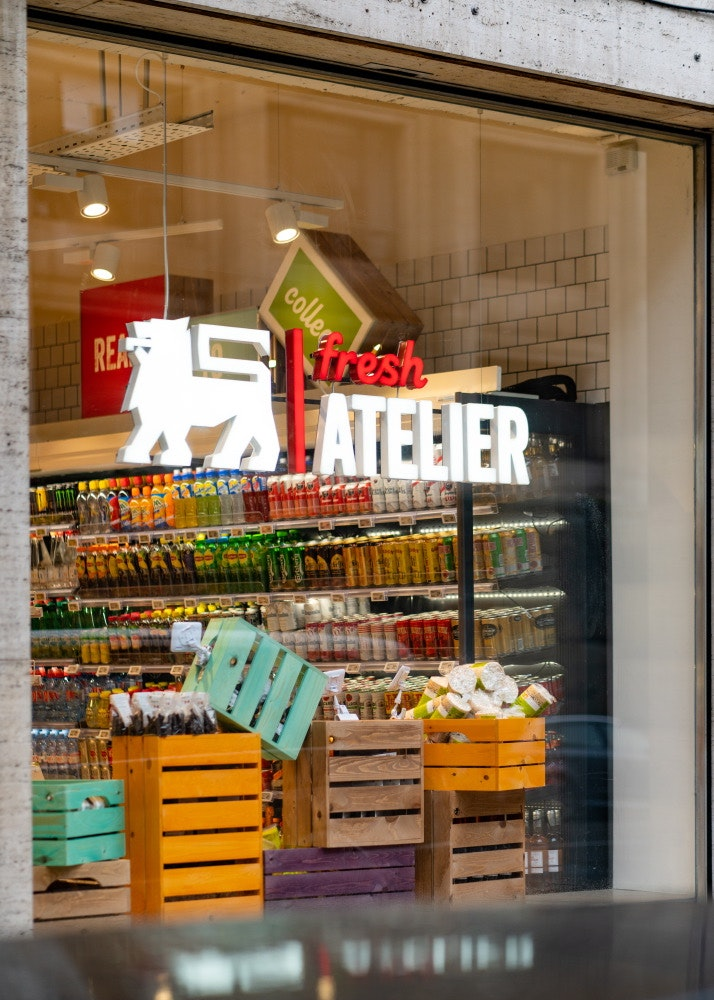 Fresh Atelier Delhaize-Feeding the food retail revolution.