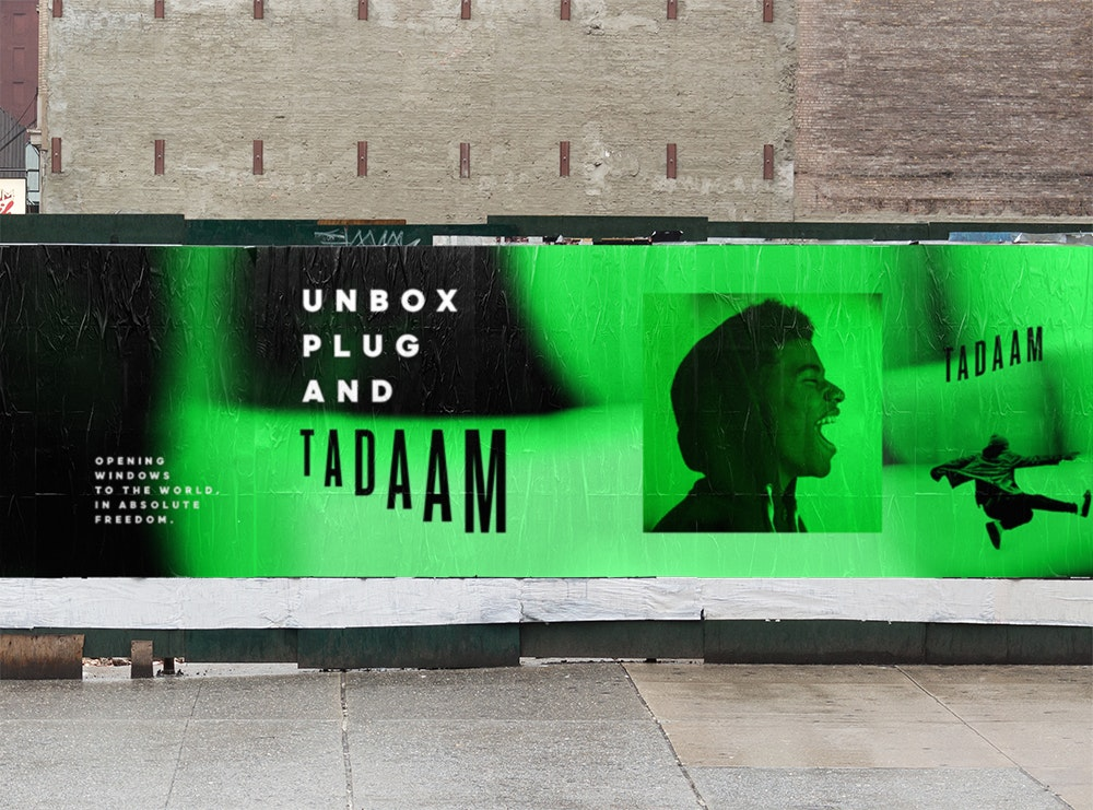 Tadaam-No lies, no ties.